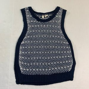 Anthropologie Moth Knit Sweater Vest M